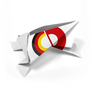 BINZ_Origamifigur_Fussball